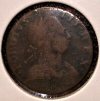 1775 1/2 PENNY FROM GREAT BRITAIN NICER DATE COLONIAL COIN