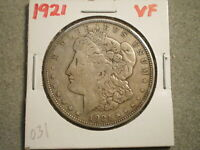 1921 MORGAN SILVER DOLLAR  <<RAW-UNCERTIFIED>>