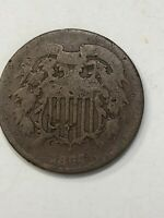 1864 2 CENT PIECE UNITED STATES OF AMERICA