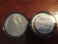 2016 STATE PARK QUARTERS 4 OF EACH X 2 DIFFERENT