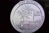 2013 D&P FORT MCHENRY QUARTER   UNCIRCULATED