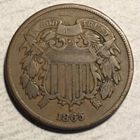 1865 2C TWO CENT