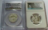 2013 S   2018 S ATB SILVER 25C WHITE MTNS   PICTURED   PCGS