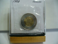 1998   CANADA 2$ TWO  DOLLAR  COIN  TOONIE  98  PROOF LIKE  SEALED   AUCTION