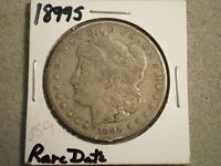 1899-S MORGAN SILVER DOLLAR/  DATE  @@RAW-UNCERTIFIED@@--SHIPS FREE