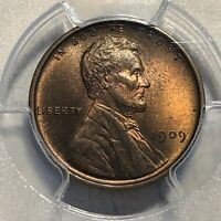 1909 VDB LINCOLN CENT 1C PENNY PCGS MINT STATE 65 RB