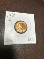 1939 S LINCOLN CENT BU. 6410
