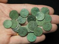 POLAND. LOT OF 22 NICE QUALITY SOLIDUS OF JAN OF CASIMIR 166
