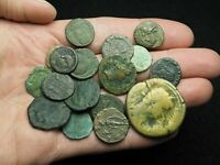 ROMAN IMPERIAL. LOT OF 17 ASSORTED COINS GOOD DETAIL LOT