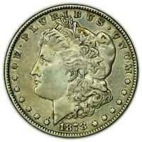 1878 MORGAN DOLLAR, 7TF, LARGE SILVER COIN, 7 TAIL FEATHERS [4592.10]