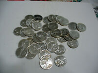 BIG  LOT OF 40 1964  CANADA   SILVER COINS  QUARTER DOLLARS  25 CENTS