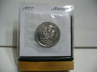1977 CANADA  HALF  DOLLAR TOP GRADE  50 CENT PIECE  77  PROOF LIKE  SEALED