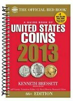 2013 SPIRAL GUIDE BOOK OF U.S. COINS OFFICIAL RED BOOK SOFT COVER 66TH EDITION