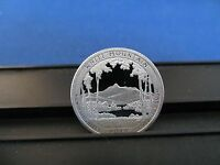 2013 S SILVER QUARTER WHITE MOUNTAIN NH DEEP CAMEO MIRROR PR