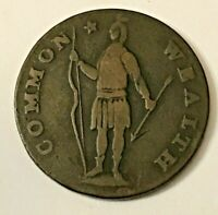 USA POST COLONIAL COMMONWEALTH OF MASSACHUSETTS CENT 1788