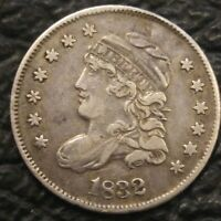 1832 CAPPED BUST HALF DIME STRONG DETAILS ORIGINAL SURFACES