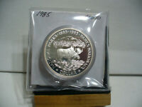 1985   CANADA  SILVER ONE  DOLLAR  COIN   1$    NICE  HIGH  GRADE   85  AUCTION