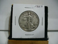 1935 S  WALKER  LIBERTY WALKING  HALF  DOLLAR  50 CENT PIECE  COIN  35S  AUCTION