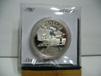 1981   CANADA  SILVER ONE  DOLLAR  COIN   1$    NICE  HIGH  GRADE   81  AUCTION