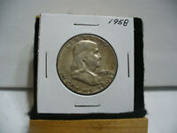 1958  BEN FRANKLIN   HALF  DOLLAR      50 CENT PIECE   COIN   58   AUCTION