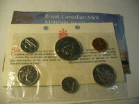 1975  CANADA   PROOF  LIKE SET  COINS  DOLLAR  HALF DOLLAR  QUARTER DIME AUCTION