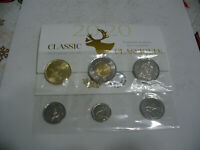 2020   CANADA   PROOF LIKE  SET   TOONIE  DOLLAR HALF QUARTER DIME   CLASSIC