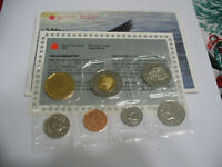 1998 W  CANADA  PROOF  LIKE SET  COINS  LOONIE  HALF DOLLAR QUARTER  DIME NICKEL