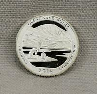 2014 S SILVER PROOF AMERICA THE BEAUTIFUL QUARTER  GREAT SAN