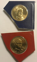 2014 P&D HERBERT HOOVER DOLLAR FROM MINT SET IN CELLO WITH SHIPS FREE