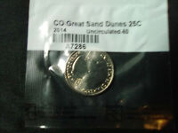 2014 GREAT SAND DUNES CO STATE QUARTER UNCIRCULATED