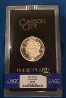 1881-CC $1 MORGAN SILVER DOLLAR GSA MINT STATE 64 CAC NGC COMES WITH OG MAILING BOX