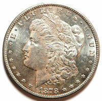 1878 S SAN FRANCISCO SILVER MORGAN DOLLAR 7 TF CONCAVE BREAST GREAT STRIKE VAM?
