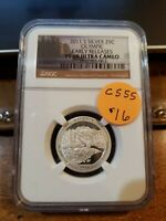 2011 S 25C OLYMPIC EARLY RELEASES AMERICAS NATIONAL TREASURE