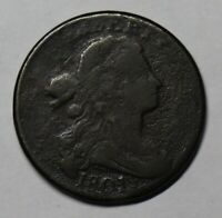 1801 DRAPED BUST LARGE CENT S-224, R1, VG