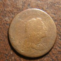 1794 CAPPED LIBERTY LARGE CENT, HEAD OF 1793, S-20B, R-4