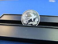 2008 S SILVER QUARTER OKLAHOMA DEEP CAMEO MIRROR PROOF UPPER