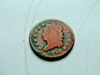 1814 U.S. CLASSIC HEAD LARGE CENT 1C COPPER PENNY
