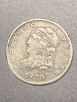 1830 CAPPED BUST 5C NICKEL AND 1 OTHER RARE COIN