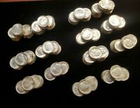 350  7 ROLLS OF DIMES FROM 1958 TO 1964 P/D MINT SET ROOSEV