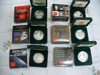 LOT OF 6   1998 2003    CANADA   PROOF DOLLARS 1 ONE DOLLAR COINS