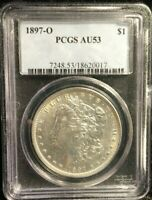 PCGS 1897-O AU53 MORGAN DOLLAR
