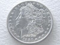 1886-S/S MORGAN DOLLAR, VAM 2 REPUNCHED MINT MARK EXTREME DETAIL 6-4