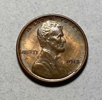 1913 LINCOLN CENT 1C PENNY BU