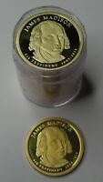 2007-S JAMES MADISON PROOF DCAM PRESIDENTIAL DOLLAR ROLL - ROLL OF 20
