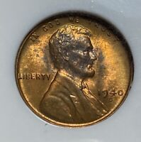 1940-D LINCOLN CENT 1C PENNY NGC MINT STATE 67 RED OLD FATTY HOLDER