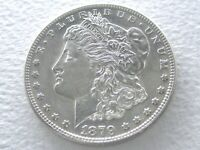 1879-S 2ND REV. OF '78 MORGAN DOLLAR, VAM 42 -  VARIETY 6-18-K