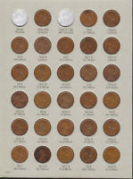 LINCOLN WHEAT CENTS COLLECTION 1909 - 1940  INCLUDES THE 1909S 1914D &1931S