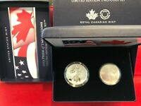 2019 W ENHANCED REVERSE PROOF SILVER EAGLE MAPLE LEAF PRIDE