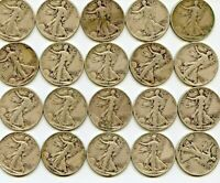 ROLL OF 1943 WALKERS SILVER COINS