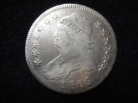 1809 CAPPED BUST HALF DOLLAR - EARLY DATE CLEANED.  PRICED RIGHT.